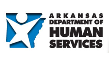 Links to The Arkansas Department of Human Services website,